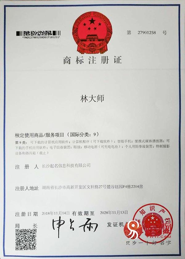 起名网林大师注册商标