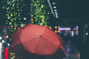 下雨天的心情说说