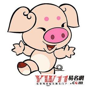 词语相关.猪年出生人的名字常跟草字旁或土字旁的字打交道,