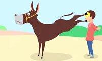 乡村喜剧《脑瓜子让驴踢了》脑袋真被驴踢了!真被逗乐了