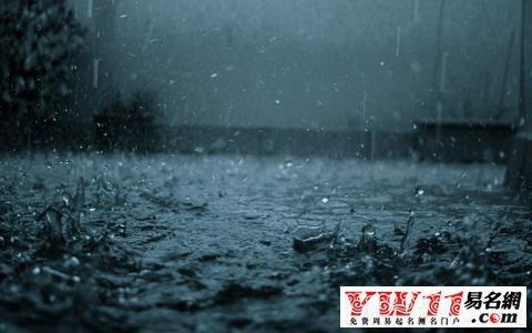 梦见突然下雨特别大