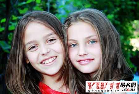 双胞胎女孩起名名字大全