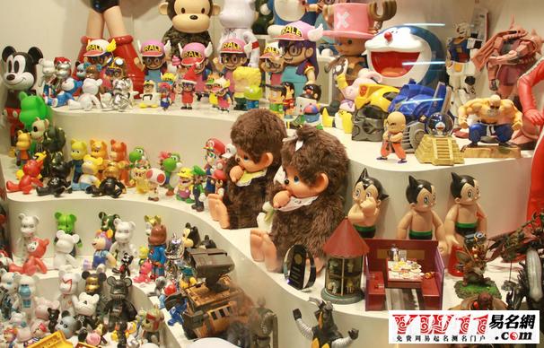儿童玩具专卖店名称的设计一般简单易懂
