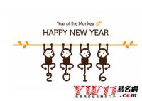 猴年新春祝福语