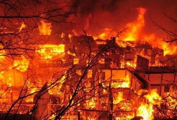 梦见自己房子着火了_梦到房子着火-起名网