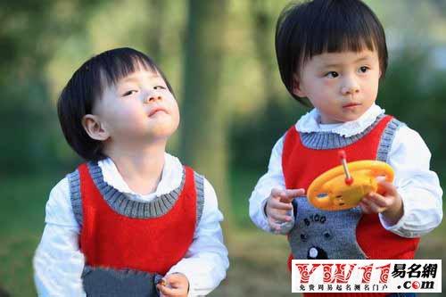 双胞胎男孩起名大全