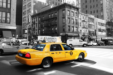 梦见出租车